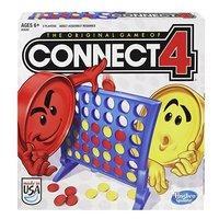 $5.51(原价$12.99) 美亚4.7超高分好评Hasbro 儿童四子棋桌游,一家人都爱的亲子