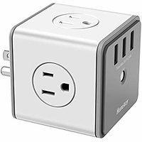 Huntkey 立方电涌保护 交流电源插座