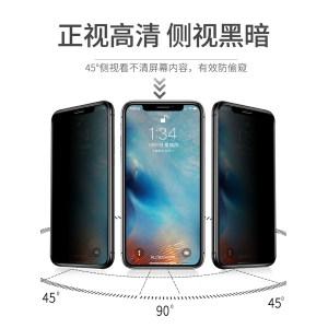 柏奈儿 苹果全系列9D钢化膜 2片 送贴膜神器+后膜 5.8元包邮