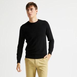 世界上最好的羊毛 本米 男羊毛衫 100%澳洲美利奴羊毛 239元包邮