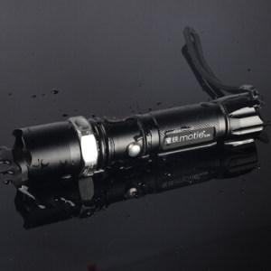 MOTIE 魔铁S26 强光手电筒 (1电1冲)19.9元