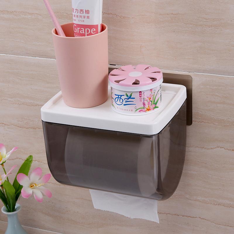 ¥21.6 双庆 免打孔创意抽纸盒