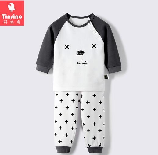 TINSINO 纤丝鸟 儿童内衣套装 *2件 59.9元(合29.95元/件)