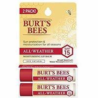$4.4(原价$6.86) Burt's Bees 润唇膏 SPF15 2支装