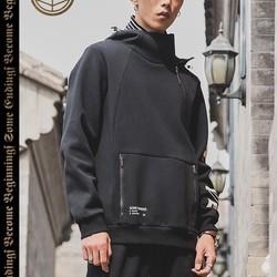 21日0点、双11预售: LI-NING 李宁 风起物藏 AWDNC71 男子连帽卫衣 98元(前2小时)