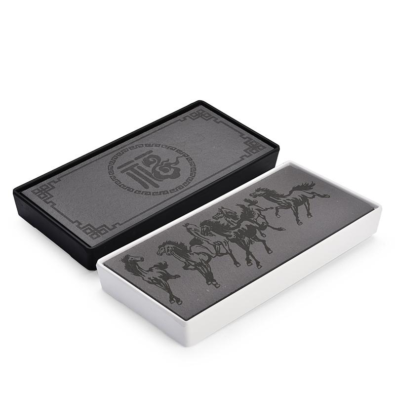 澜扬 简约茶盘 方形 20cm 2色可选  券后5.9元
