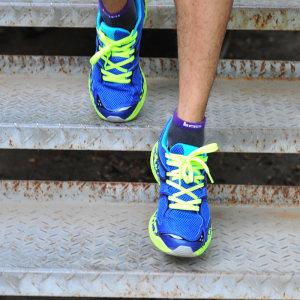 断码清仓 必迈 Mile 21K 2代 20公里 男女 轻量缓震专业跑步鞋 139元最低价
