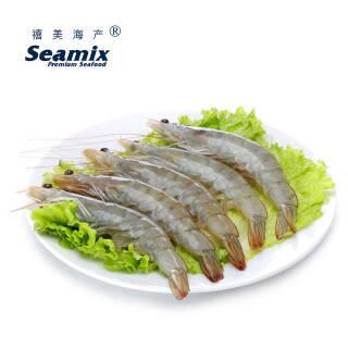 禧美 厄瓜多尔白虾(ASC认证)1.8kg/盒 90-108只 99元