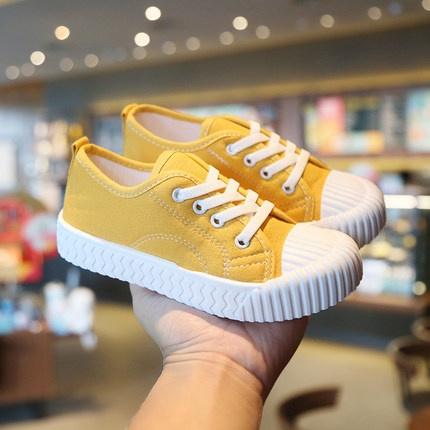 优优蓓蕾 儿童帆布鞋 17.9元包邮(前900件) ¥18