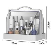¥9.9 鑫凯通 化妆品收纳盒B款大号手提单层头白色