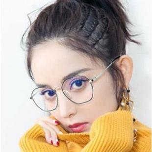 超轻薄多边形防蓝光防辐射护目眼镜 券后¥69