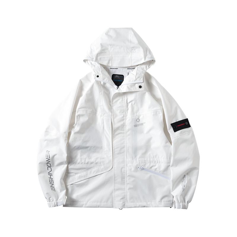 ENSHADOWER隐蔽者廓形压胶多口袋冲锋衣夹克 焕新价664元