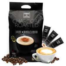 马来西亚进口 沃欧咖啡(wow coffee)3合1速溶白咖啡1600g/袋(16g×100条)炭烧