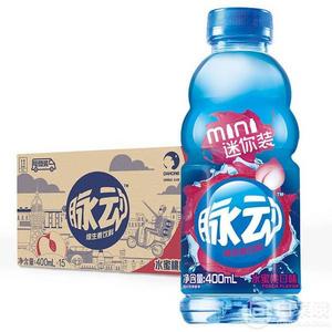 ¥27.26 脉动 维生素功能饮料 水蜜桃口味 400ml*15瓶
