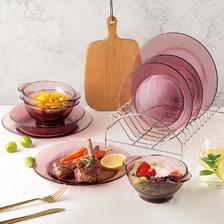 美国康宁 snapware 玻璃碗碟餐具套装39元包邮(需领券)