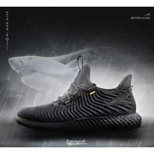 10点抢 神价格 英国 斯潘迪 19年春季新款 巨齿鲨系列 男一体织椰子鞋 189元包邮 正价599元