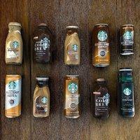 咖啡星冰乐$15.19 一瓶仅$1.01 Starbucks 玻璃瓶装星冰乐等饮料特卖