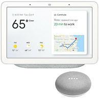 监控、控制、语音、触控大屏!Google 谷歌 家庭助手 GA00516-US 57.8美元约¥409