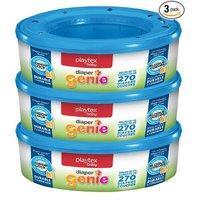 $10.12 (原价$22.64) Playtex Diaper Genie 尿布垃圾桶专用替换芯270个/盒 共3盒