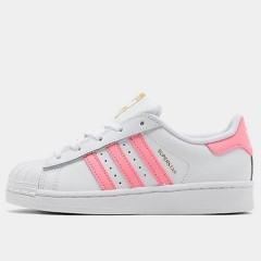 【额外5折】adidas Originals 三叶草 Superstar 大童款板鞋
