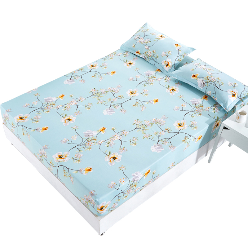 床笠单件防滑固定床罩床套1.2m1.5米席梦思床垫防尘保护床单全包  券后9元