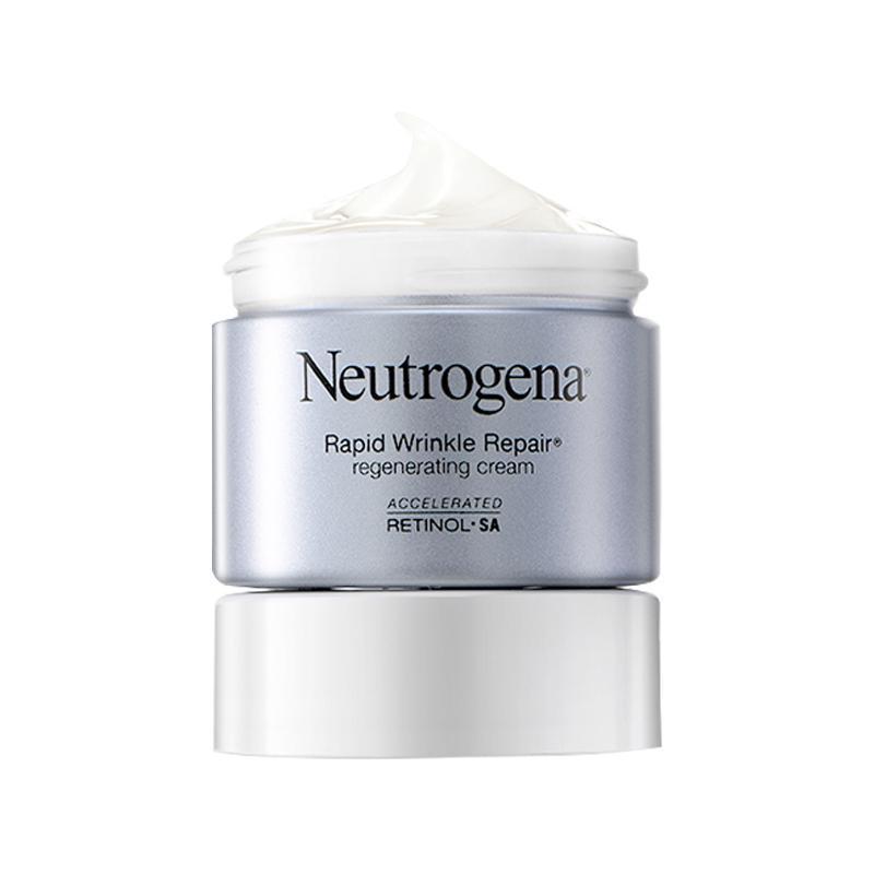 Neutrogena 露得清 Rapid Wrinkle Repair 视黄醇抗皱再生面霜 48ml *2件 280元包邮包税