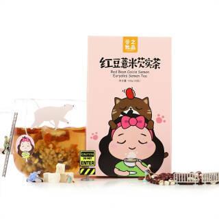 谷之优品 红豆薏米芡实茶 *2件 58.5元(合29.25元/件)