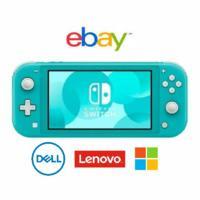 部分9折 Switch Lite 低至$180 eBay 笔记本电子产品大促,Dell、联想、微软官方店