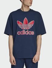 折合104.37元 adidas Originals Trefoil Logo 男士休闲T恤