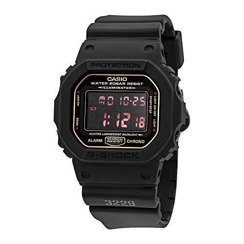 ¥450.35 Casio 卡西欧 G-Shock 哑光黑红* DW5600MS-1 日本进口