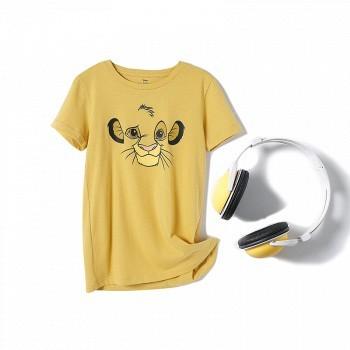 苏宁易购 Disney 迪士尼 狮子王系列 儿童短袖T恤 79.2元包邮