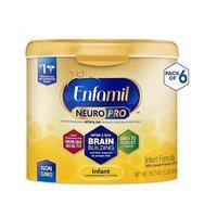 $126.61(原价$162.13) 每罐$21Enfamil NeuroPro 非转基因婴儿配方奶粉,20.7盎司*6罐