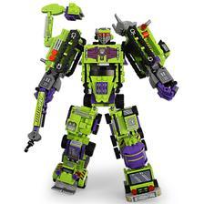 新森宝 变形机器人积木 积变大力神 整套六盒 39元包邮