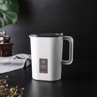 冷水壶大容量耐热高温茶壶 2400ml 19.9元