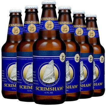 京东PLUS会员:NORTH COAST 北岸 贝雕 皮尔森精酿啤酒 组合装 355ml*6瓶 *7件 316.1元包邮(双重优惠) ¥316