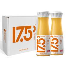 京东商城 农夫山泉 17.5°NFC鲜橙汁100%果汁 330ml*4瓶*5件+凑单品 149.4元(合)