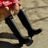 低至4折 收经典长雨靴 Rue La La 精选 Hunter 时尚颜值爆表雨靴热卖
