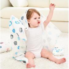 Disney 迪士尼 婴儿泡泡棉纱浴巾 110*70 19元包邮
