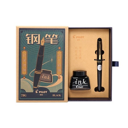 PILOT 百乐 78G+ 钢笔 EF/M/F尖可选 61.6元包邮(需用券) ¥62