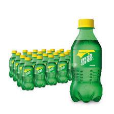 20日8点:雪碧 Sprite 柠檬味 汽水 碳酸饮料 300ml*24瓶 整箱装 可口可乐公司出