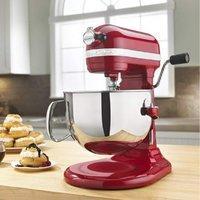 $249.99 三色同价史低价:KitchenAid 600系列 575瓦超大马力专业立式厨师机