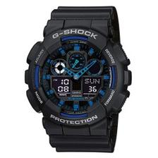 低价!【中亚Prime会员】Casio 卡西欧 G-Shock 男士时尚手表 GA-100A-1A2ER
