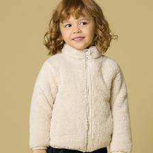 ¥39 GL-BulingBubble男童女童秋冬上衣宝宝连帽双面毛绒外套