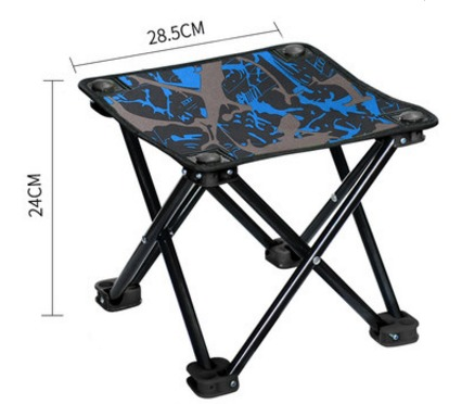 ¥9.9 TAN XIAN ZHE 探险者 户外折叠椅便携式小板凳