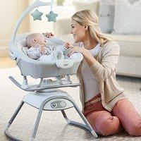 $92.9(原价$159.99)史低价:Graco Duet Glide 婴幼儿电动音乐摇篮,可拆卸