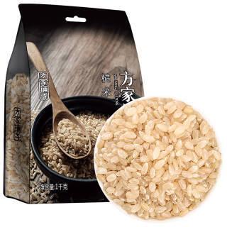 方家铺子 糙米 1kg 8.64元