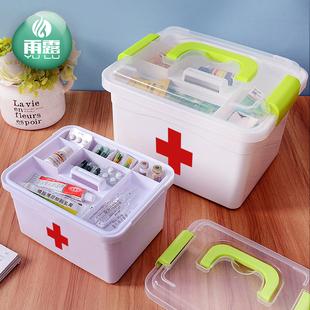 多层家庭塑料收纳盒医药箱 券后¥6.8