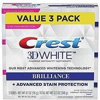 $11.13(原价$16.99) 包邮Crest 3D 美白牙膏 3支装