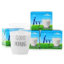 爱谊(Ivy)泰国原装进口酸奶饮品原味180ml*4盒 成人儿童酸乳酪饮品 7.43元