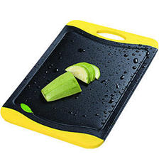 红凡 厨房菜板砧板竹炭切菜板切水果长方形宝宝辅食防滑案板塑料刀板面板